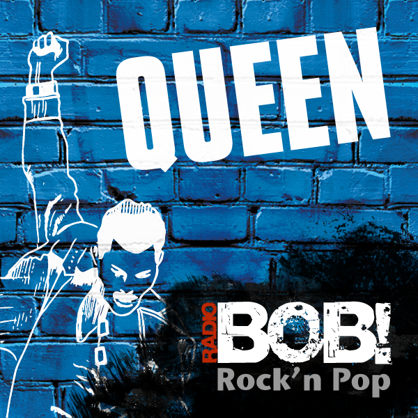 Radio BOB! Queen Logo