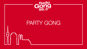 Gong 96.3 Party Gong  Logo