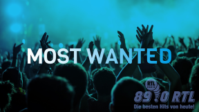 89.0 RTL Most Wanted Logo