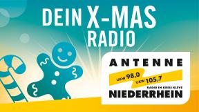 Antenne Niederrhein - Dein X-mas Radio  Logo