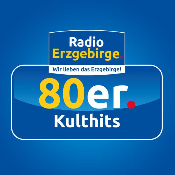 Radio Erzgebirge - 80er Kulthits Logo