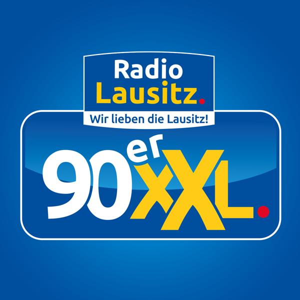 Radio Lausitz - 90er XXL Logo
