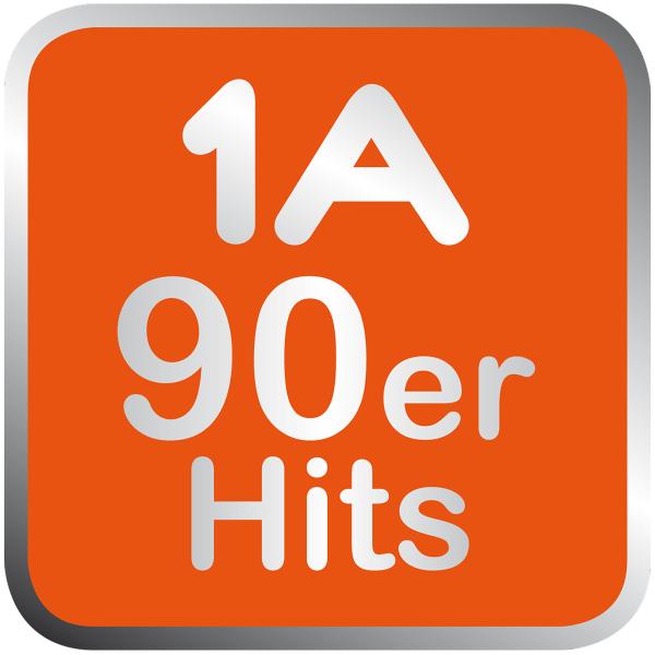 1A 90er Hits Logo