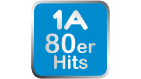 1A 80er Hits  Logo