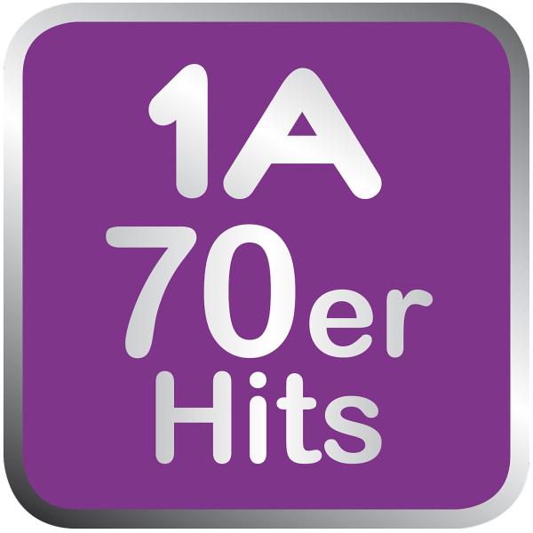 1A 70er Hits  Logo