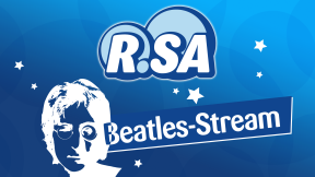 R.SA - Das Beatles Radio Logo