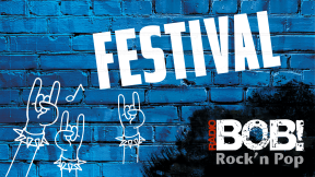 RADIO BOB! - Festival Stream Logo