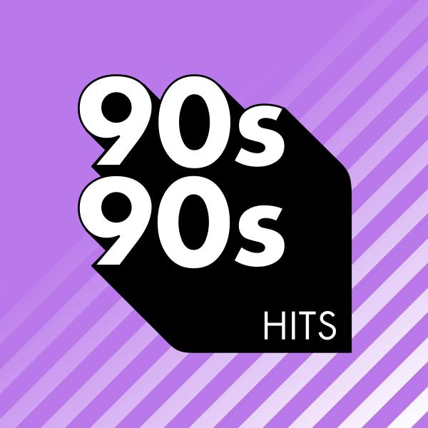 90s90s 90er Hits Logo