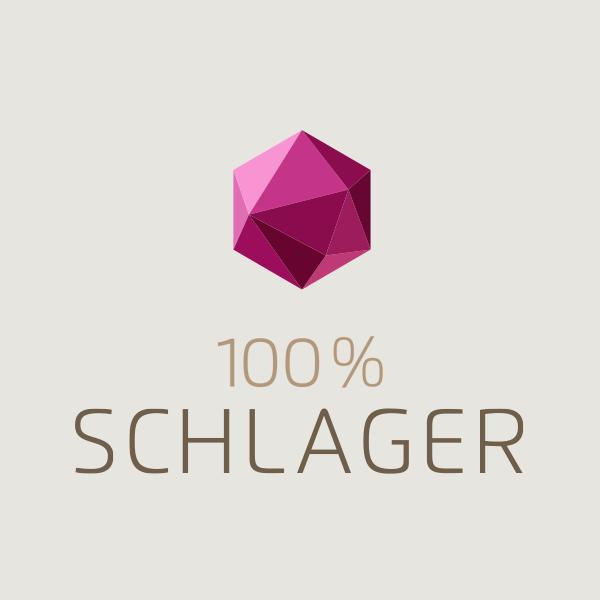 Schlagerplanet Radio 100% Schlager Logo