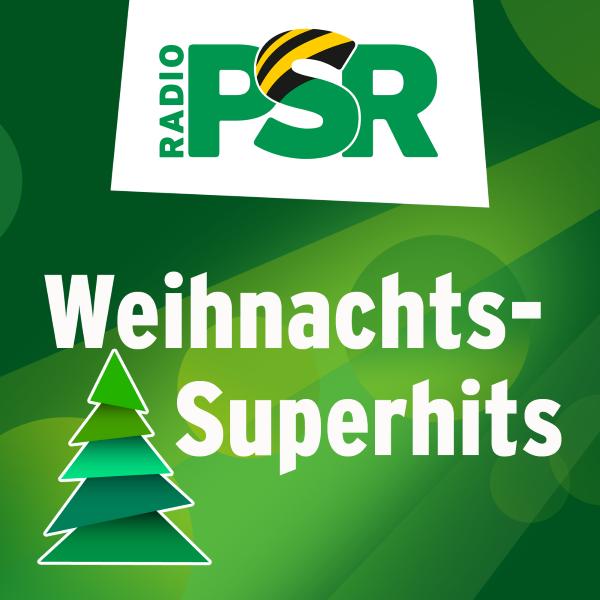 RADIO PSR Weihnachts-Superhits Logo