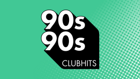 90s90s Clubhits Logo