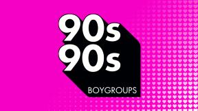 90s90s Boygroups Logo