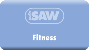 radio SAW-Fitness Logo