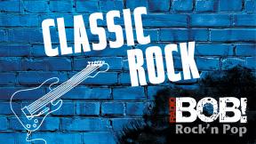 RADIO BOB! - Classic Rock Logo