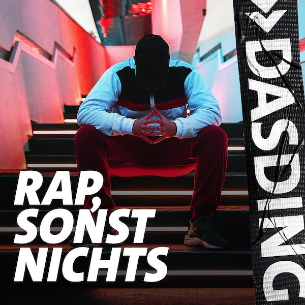 DASDING Rap, sonst nichts Logo