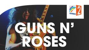 Regenbogen Zwei Guns N' Roses Logo