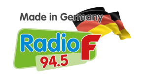 94.5 | Radio F - Made in Germany Logo