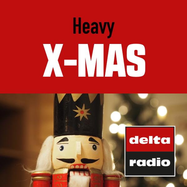 delta radio Heavy X-Mas Logo
