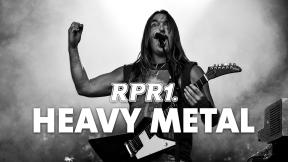 RPR1. Heavy Metal Logo