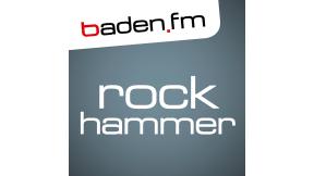 baden.fm ROCK HAMMER Logo