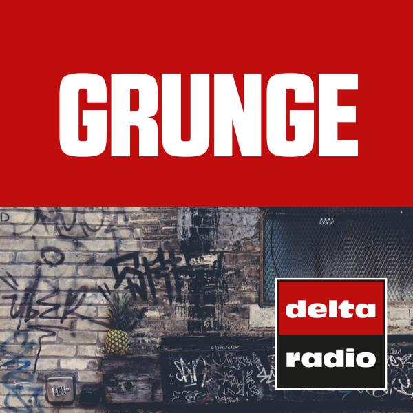 delta radio GRUNGE Logo