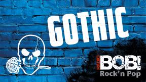 RADIO BOB! - Gothic Logo