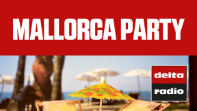 delta radio Mallorca Party Logo