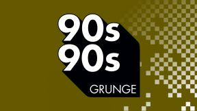 90s90s Grunge Logo
