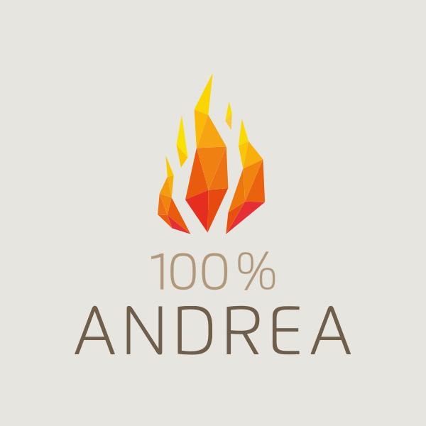 Schlagerplanet Radio 100% Andrea Berg Logo