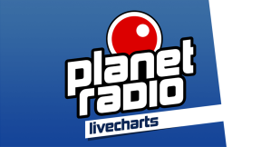 planet radio livecharts Logo