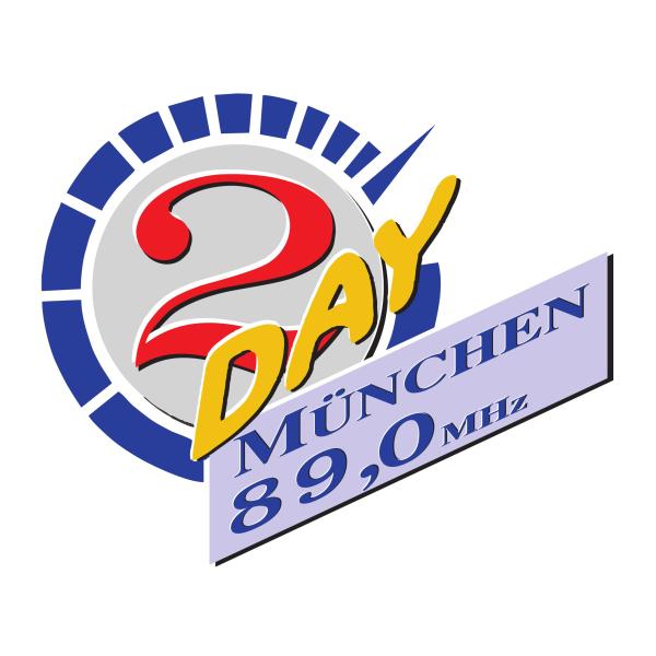 Radio 2DAY 89 München Logo
