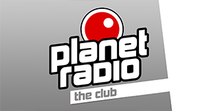 planet radio the club Logo