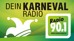 Radio 90,1 Mönchengladbach - Karnevals Radio Logo