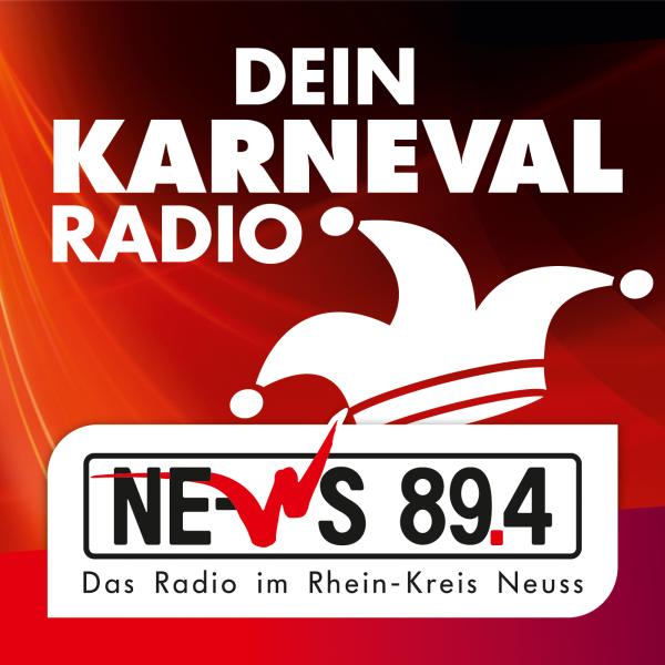 NE-WS 89.4 - Karnevals Radio Logo
