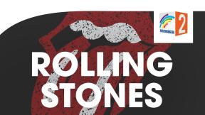 Regenbogen Zwei Rolling Stones Logo