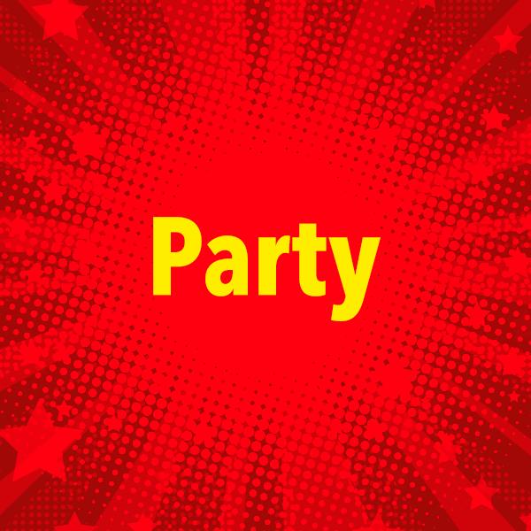 104.6 RTL Party Logo