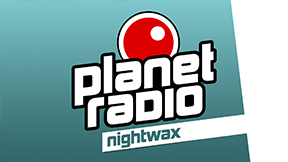 planet radio nightwax Logo