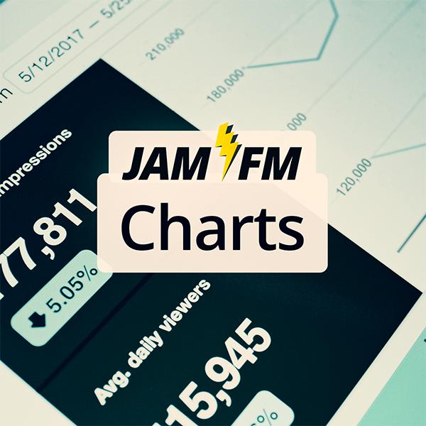 JAM FM Charts Logo
