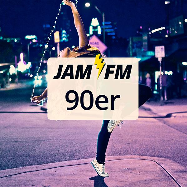 JAM FM 90er Logo