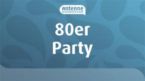 Antenne Niedersachsen 80er Party Logo