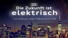 Audi e-tron: Die Zukunft Ist Elektrisch Logo
