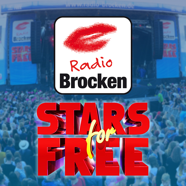 Radio Brocken Stars for Free Logo