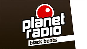 planet radio black beats Logo