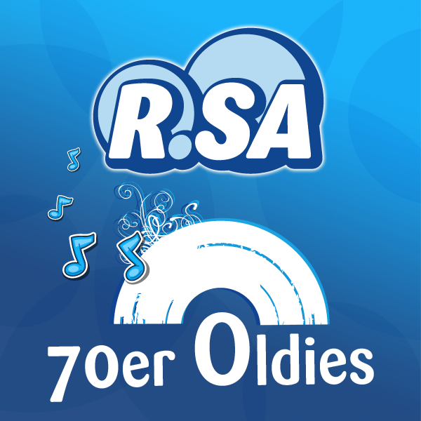 R.SA 70er Oldies Logo