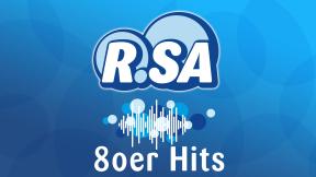 R.SA 80er Hits Logo