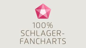 100% Schlager-Fancharts - Schlagerplanet Radio Logo