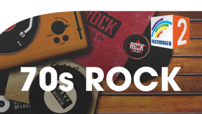 Regenbogen Zwei 70er Rock Logo