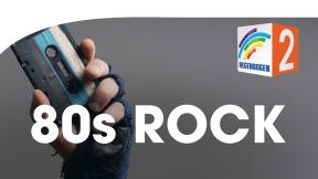 Regenbogen Zwei 80er Rock Logo