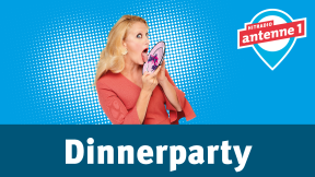 Hitradio antenne 1 barba radio - Dinnerparty Logo