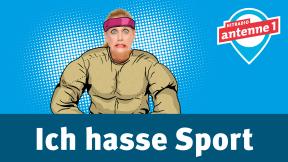 Hitradio antenne 1 barba radio - Ich hasse Sport Logo